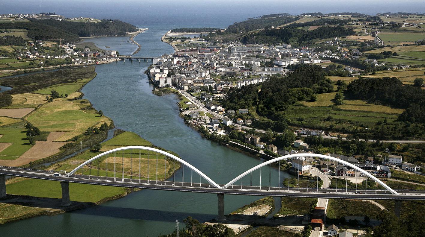 Vista aérea de Navia