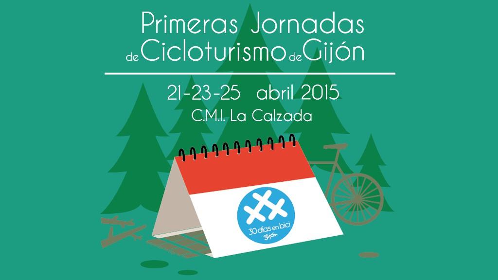 Primeras Jornadas de Cicloturismo de Gijón. 21-23-25 Abril 2015